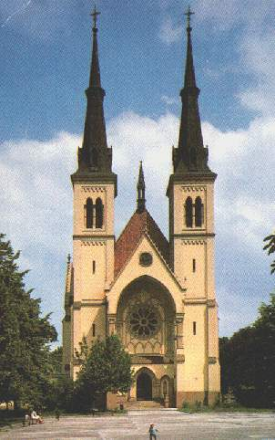 P.Maria Church on S.Cech square